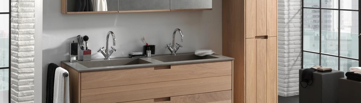 Badkamer Onderkast Hout : Ontdek ons badkamermeubel margaux