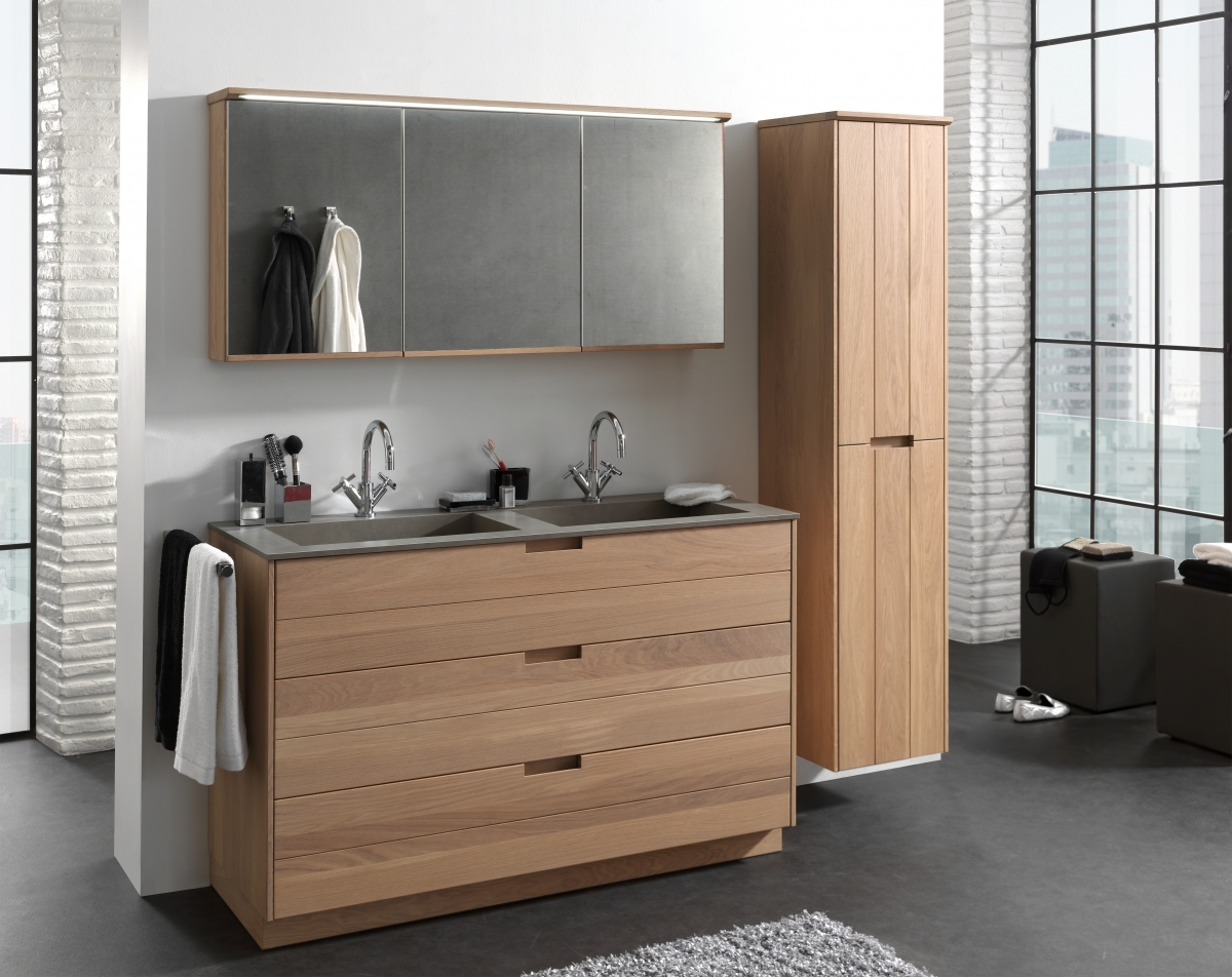 Badkamer Onderkast Hout : Ontdek ons landelijk badkamermeubel margaux
